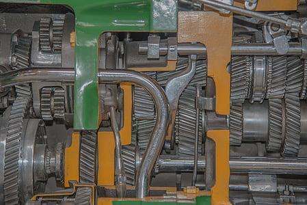 transmissió, unitat, metall, d'acer inoxidable, connexió, al seu torn, tecnologia