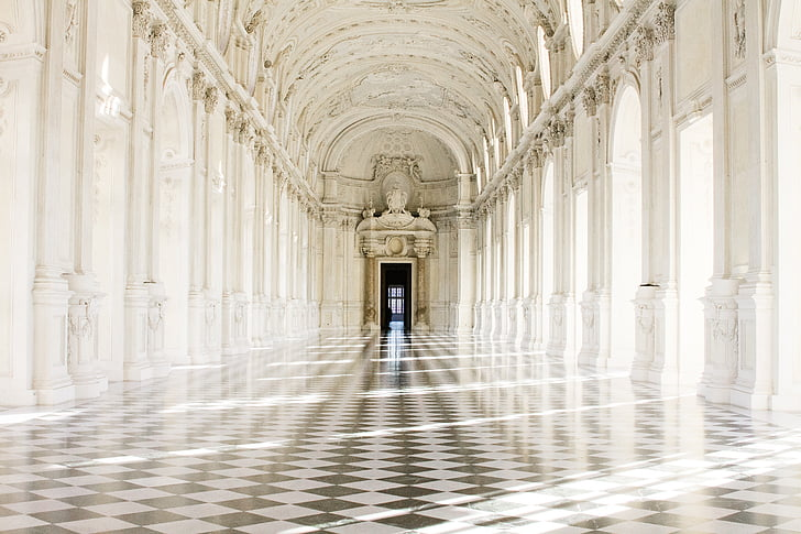 torino, royal palace, piemonte, architecture, arch, architectural Column, famous Place