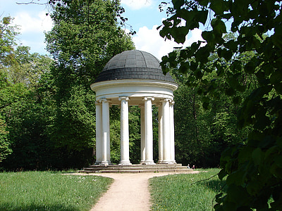 Temple, sobre, temple Jònic, jardí, Parc, el Regne del jardí, Dessau