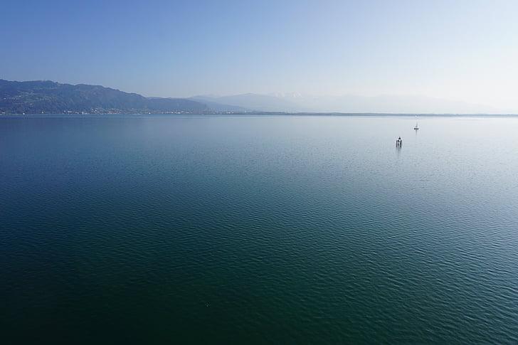 Llac de Constança, Llac, l'aigua, blau, veure, resta, tranquil