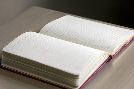 tạp chí, Bàn, gỗ, máy tính xách tay, bằng văn bản, giấy, Trang