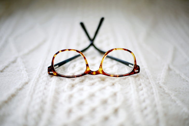 prillid, raam, blur, voodi, nägemine, silma katseseadmed, Valikuline fookus