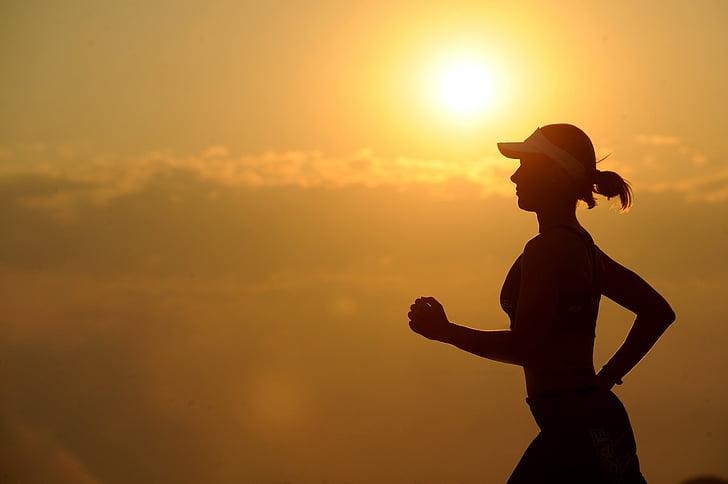uthållighet, utöva, kvinna, passar, Fitness, Flicka, hälsa