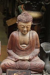 Buddha, Idol, buddhizmus, vallás, szobor, béke, buddhista