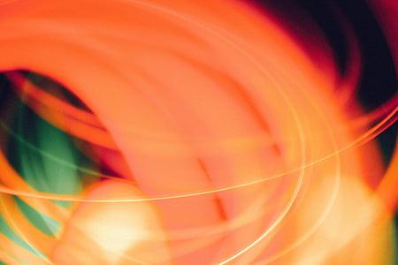 đèn chiếu sáng, mờ, Bokeh, nền tảng, màu sắc, tóm tắt, chuyển động