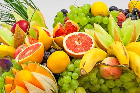 menjar, fruita, cítrics, postres, menjar sa, salut, dolç