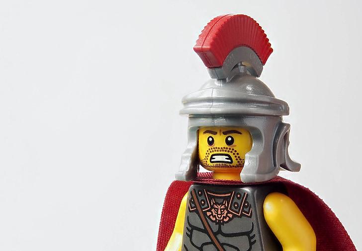 lego, roman, centurion, soldier, army, officer, leadership