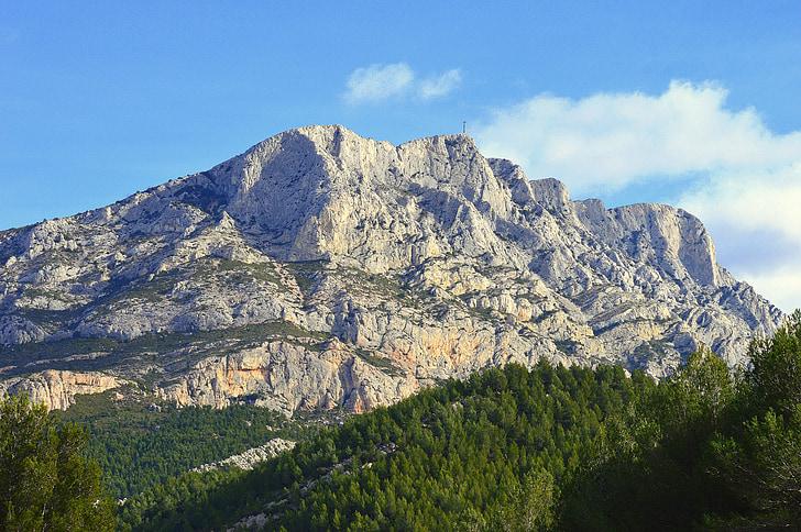 muntanya, França, Aix en Provença, Santa Victòria, color de Provença
