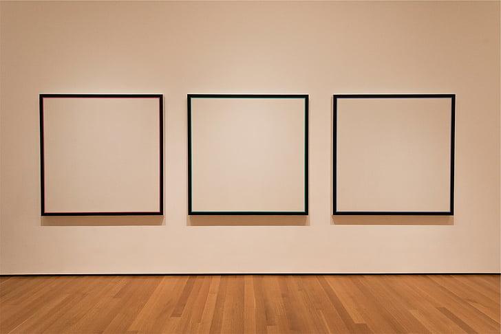 kunstigalerii, lõuend, kunsti, Galerii, näitus, raam, pilt