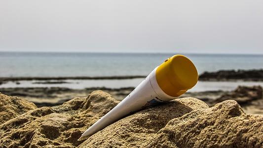 crème solaire, été, plage, protection, Tan, vacances, bain de soleil