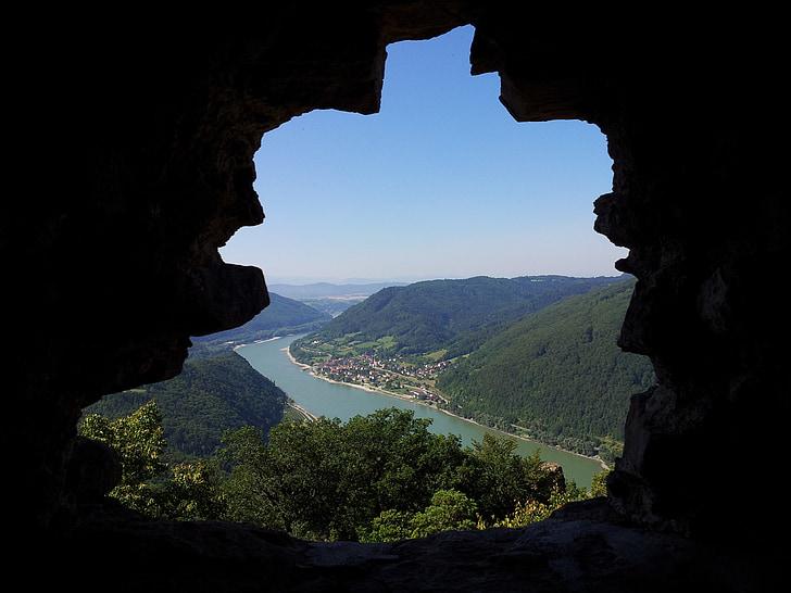 landskap, resor, naturliga, Rock, vatten, sommar, naturen