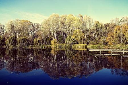 κατηγοριοποίηση, φύση, t, Λίμνη, προκυμαία, νερό, τοπίο