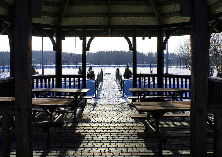 Bridge, mùa đông bower, kỳ nghỉ, thư giãn, hòa bình của tâm