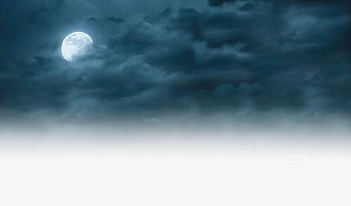 φεγγάρι, ουρανός, διανυκτέρευση, νεφελώδης, φως του φεγγαριού, Πλήρης, Αστρονομία