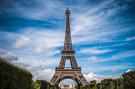 França, París, paisatge, Torre Eiffel, París - França, renom, Torre