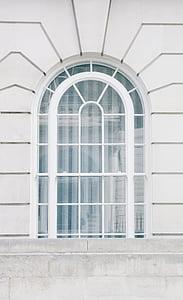 voltat de finestra, vidre, blanc, finestra, vidre - material, arquitectura, no hi ha persones