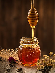 mel, groc, apicultor, natura, pol·len, flor, l'apicultura