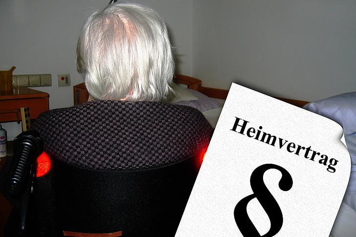 llar de jubilats, casa de retir, vell, edat, demència, Alzheimer, Cuidem els grans