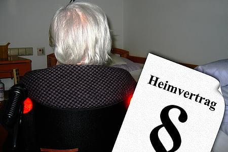Casa per anziani, Casa di riposo, vecchio, età, demenza, morbo di Alzheimer, assistenza agli anziani