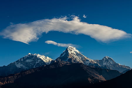 himalaya, annapurna, travel, nepal, landscape, nature, mountain
