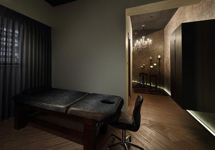 kosmetolog, luksus grand formosa regent, hot springs, slappe af, massage, indendørs, design