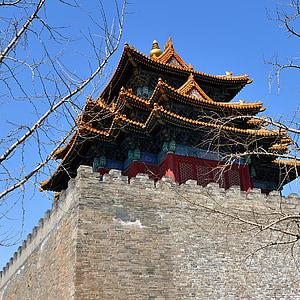 Національний Палац-музей, вежі, Пекін
