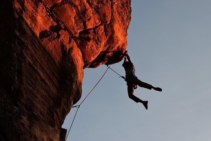 climbing, hampi, wanderer, rock climbing, adventure, outdoors, cliff