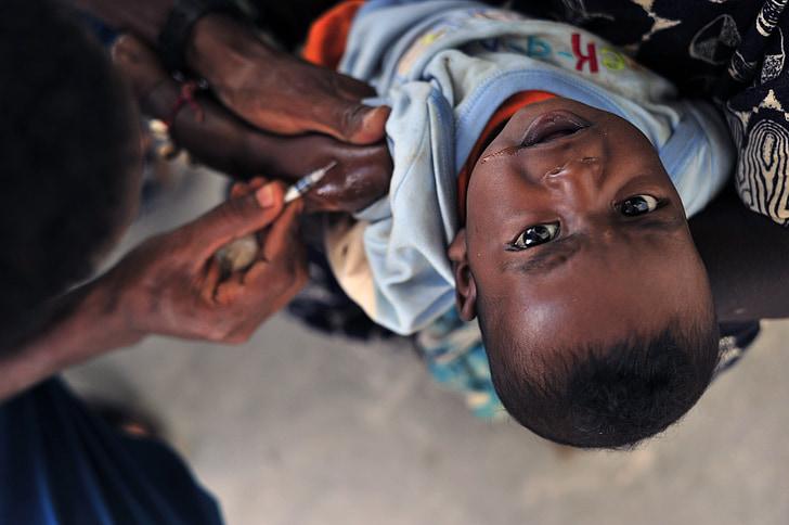 barn, patienten, vaccine, vaccination, sprøjte, indsprøjtes, medicinsk