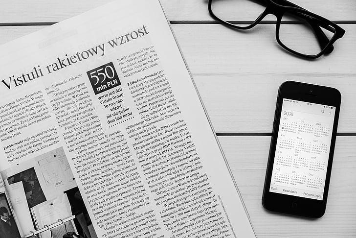 space, grey, iphone, s, newspaper, magazine, reading