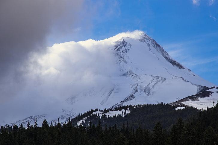 neve, montanhas, paisagem, montanha de neve, Cordilheira, paisagem montanhosa, paisagem de inverno