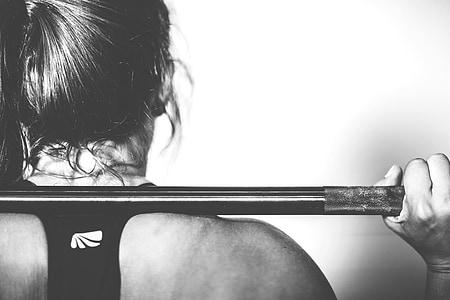 CrossFit, sporta, fitnesa, apmācības, uzdevums, sportists, jaunais