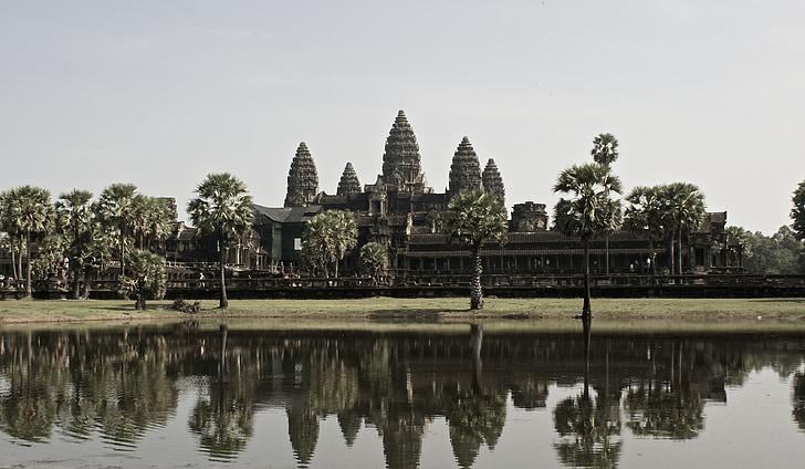Tempel, Angkor wat, Kambodscha, Südosten, Asien, Wat, Tempel-Komplex