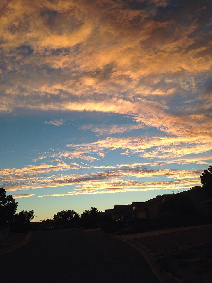 taevas, taevas, pilved