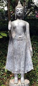 Buda, estàtua, escultura, figura, religió, Àsia, Art