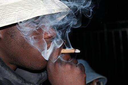 dim, korov, marihuana, zajednički, kanabisa, droga, cigareta