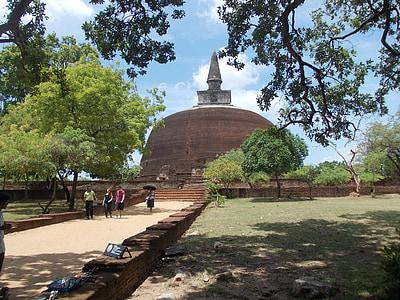 Staroveké, zrúcaniny, Srí lanka, Polonnaruwa