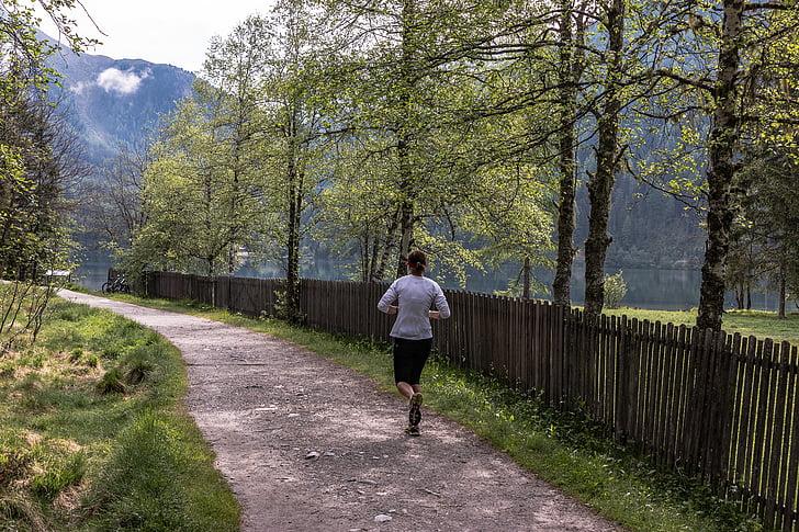 prost dostop, jog, šport, športno, Jogger, na zdravje, usposabljanje