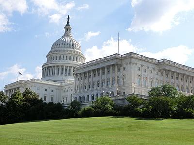 Capitol, κτίριο, αρχιτεκτονική, ΗΠΑ, Ουάσινγκτον, Ηνωμένες Πολιτείες, Αμερική