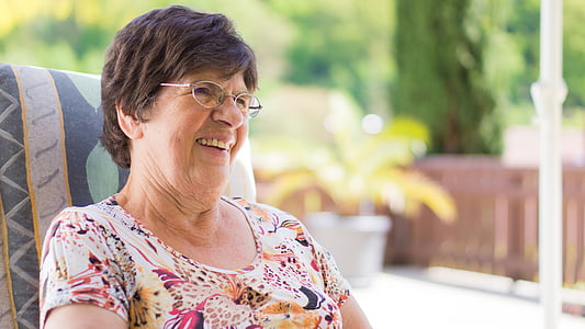 grandma, happy, family, grandmother, senior, old, woman