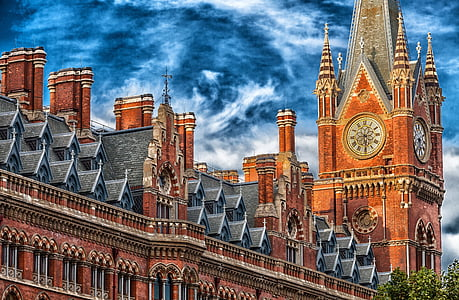 london, england, great britain, building, hdr, architecture, facade