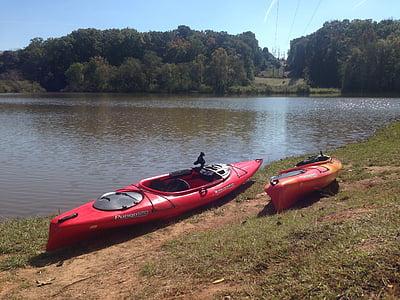 kayak, adventure, river, kayaking, water, sport, leisure