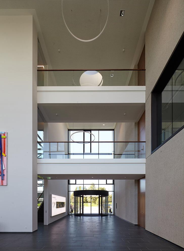 Indoor, Office, fotografie, het platform, binnenshuis, moderne, venster