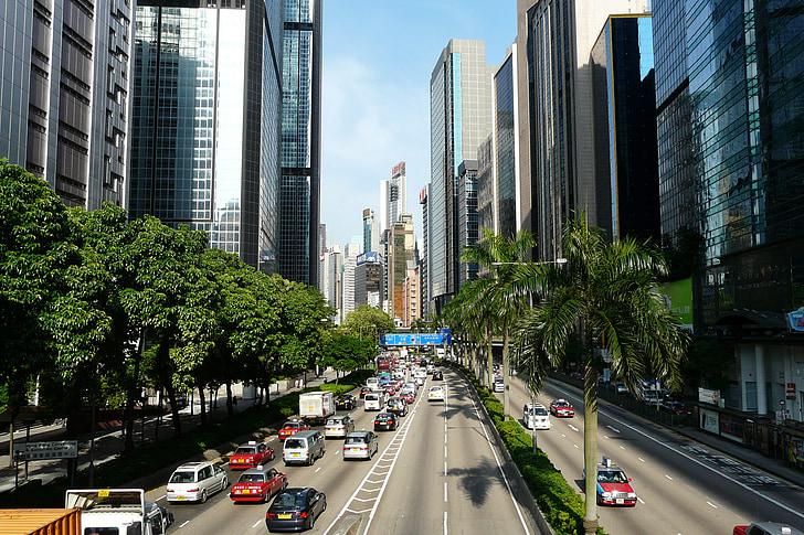 Hong Kong, traffico, Asia