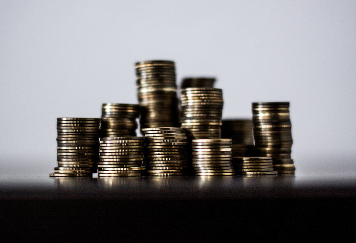 money, business, coin, currency, finance, wealth, stack