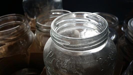 Glas, Glas, Licht, Container, transparente, Funkeln