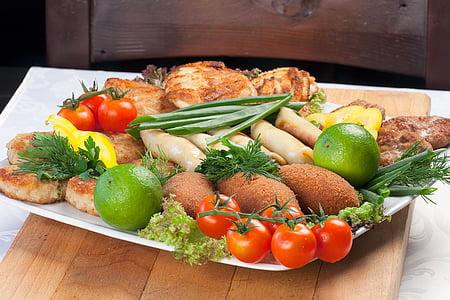 cuina, aliments, plat, Nutrició, plats de carn, cuina, placa