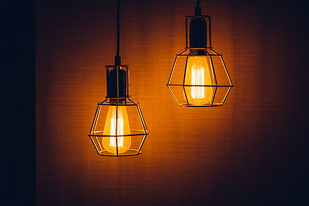 luz, Lámpara, electricidad, energía, diseño, eléctrica, brillante