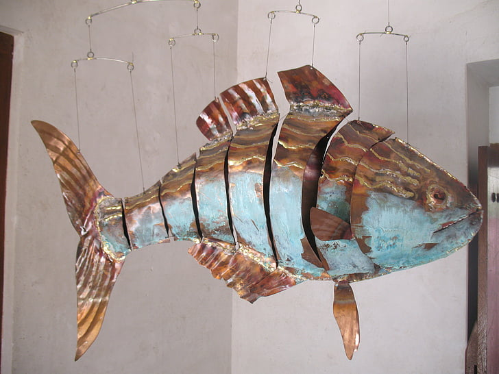 Рыба из металла своими руками 1