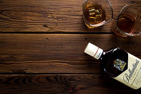alkol, Alkollü, arka plan, bira, İçecek, şişe, kutlamak