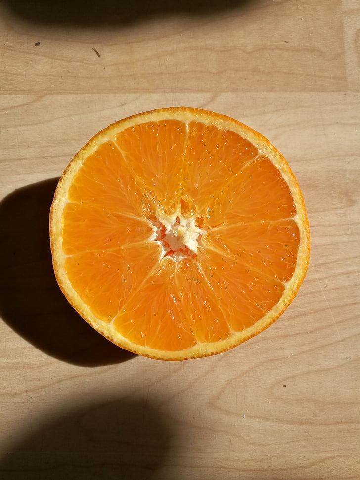 taronja, l'estiu, fresc, saborosa, fruita